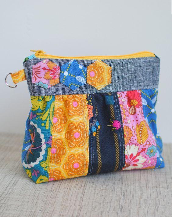 10 FREE Clutch Sewing Patterns to Bust Your Stash | Nähen, Taschen ...