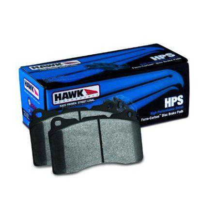 Hawk 03 05 Miata W Sport Suspension Hps Street Rear Brake Pads D1002 Multicolor Brake Pads Rear Brake Pads Ceramic Brake Pads