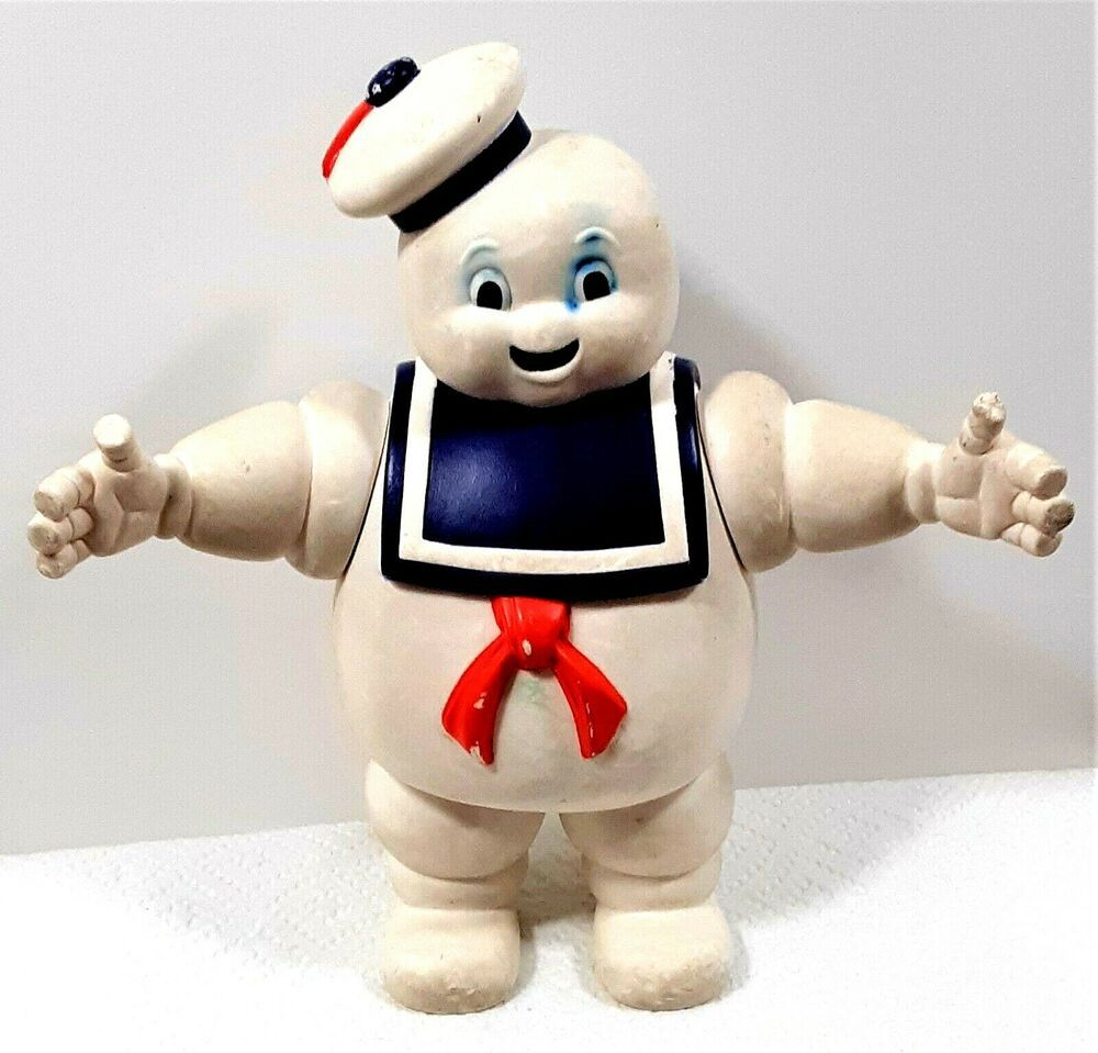 Vintage 1984 Ghostbusters Stay Puff Marshmallow Man Figure