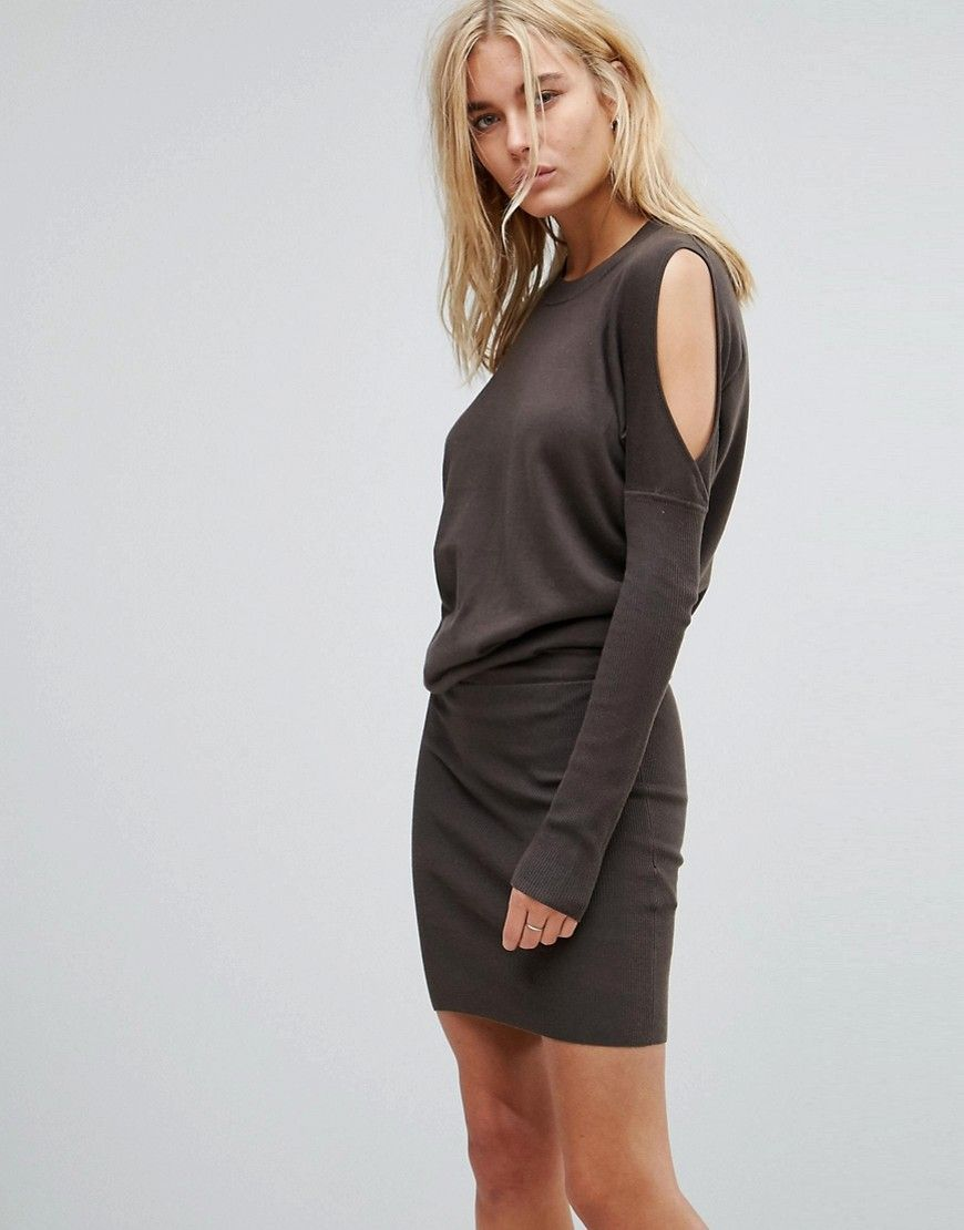 c195da5810 ALLSAINTS REYA SWEATER DRESS - GREEN.  allsaints  cloth ...