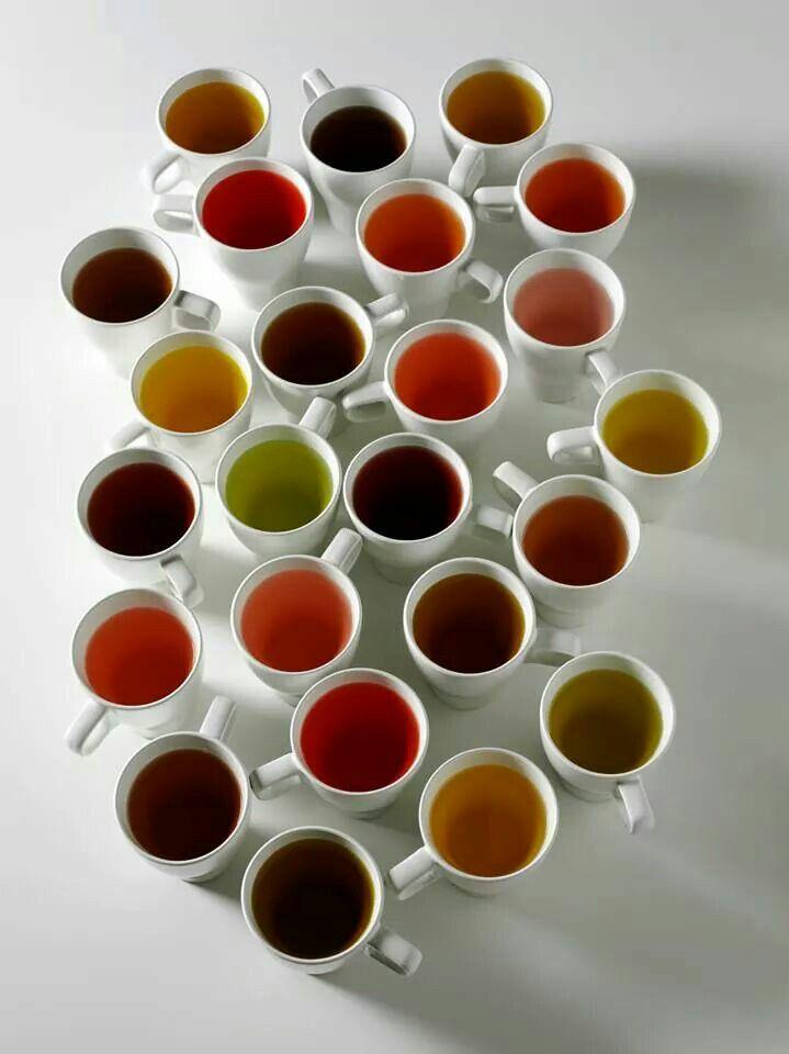 Many shades of tea