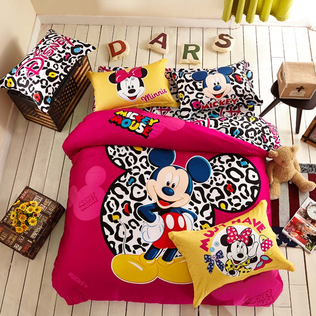 attractive Mickey Mouse Bedding Set Queen Size Part - 12: Mickey Mouse Bedding Set Twin,Queen Size- EBeddingSets Mickey Mouse Bed Set,  Disney