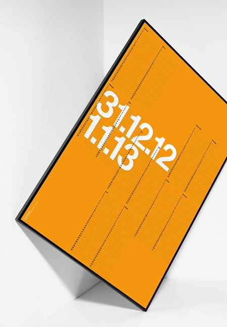 the 6th edition of David Bennett's 2013 calendar