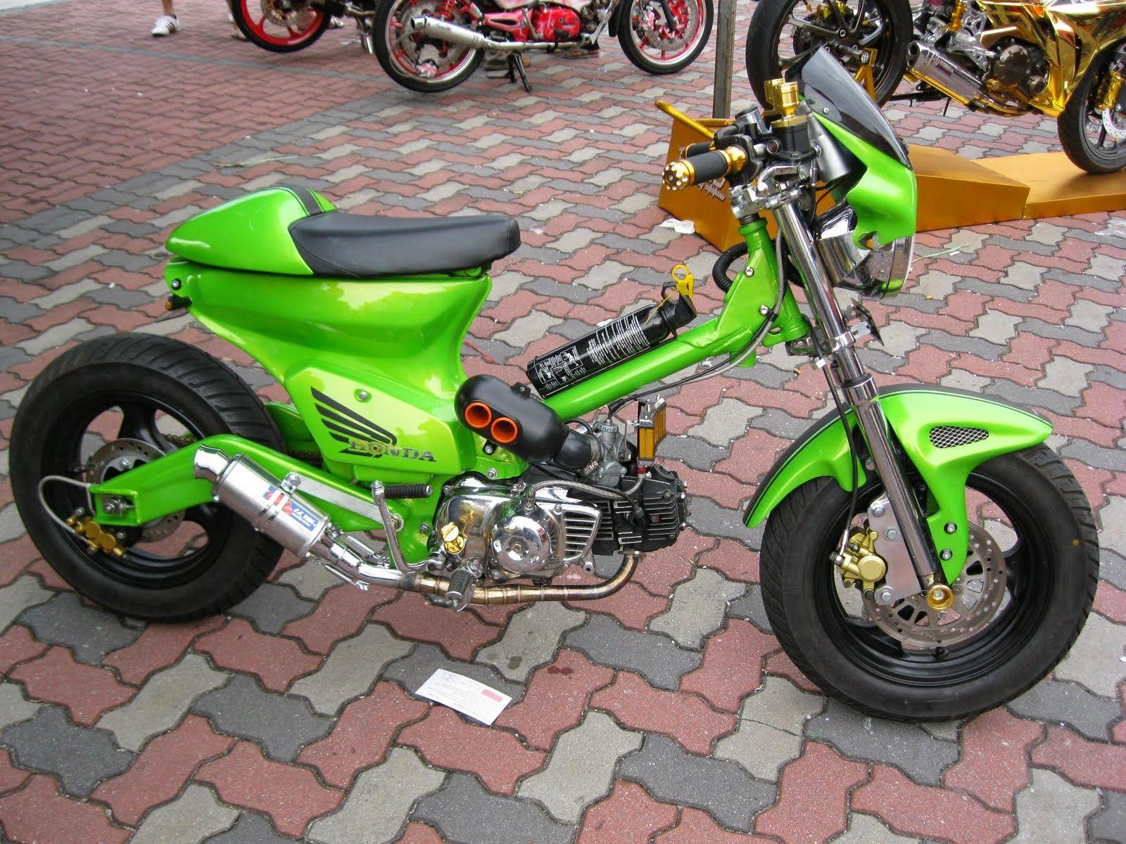 Modifikasi Motor Honda Cup 70jpg 16001200 Moto CC70 CC90