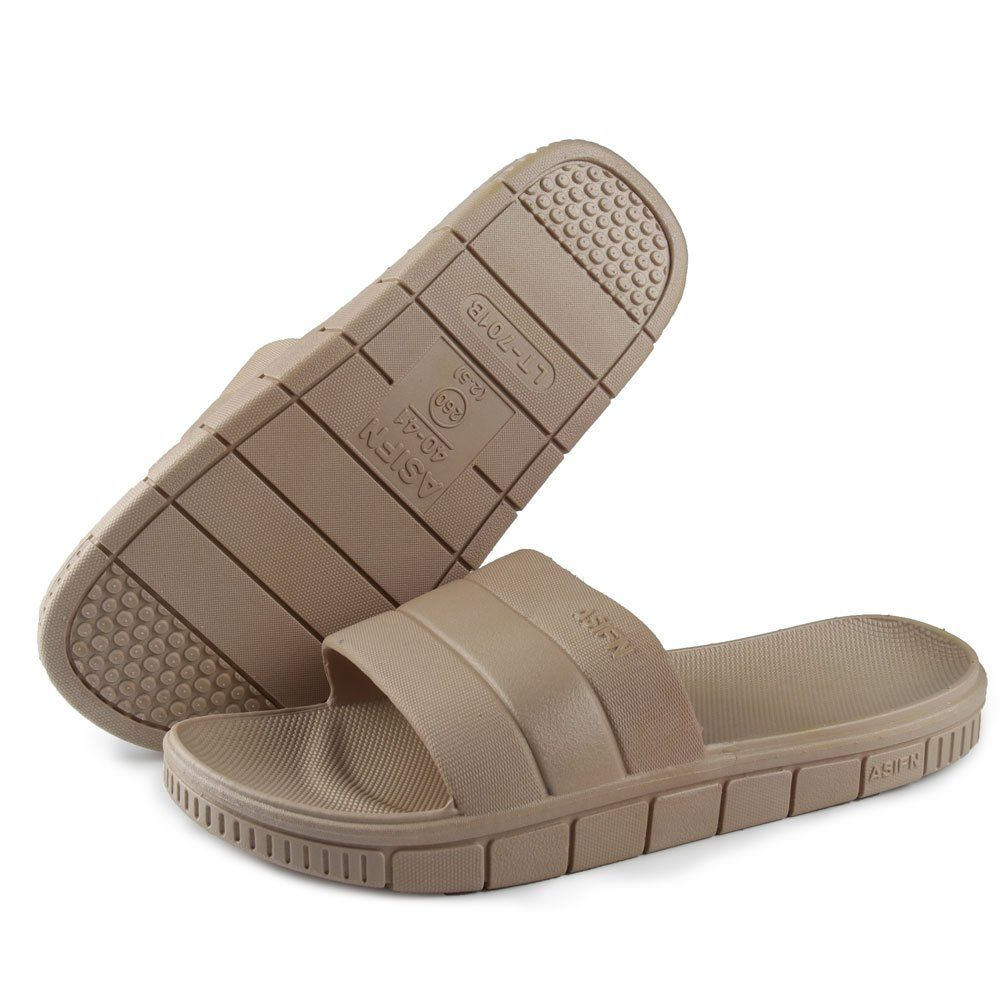 e0c4157b2 Finleoo Women Men s Slip on Slippers Thick Sole Non-Slip Shower Sandals  House Pool Shoes Bathroom Slide     Wonderful of you to have dropped by to  view the ...