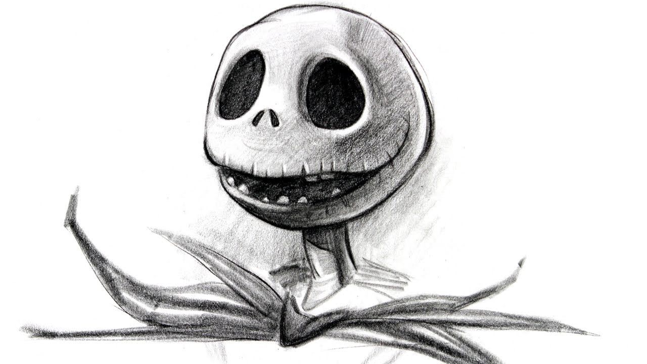 Draw Jack Skellington Halloween Special I love this