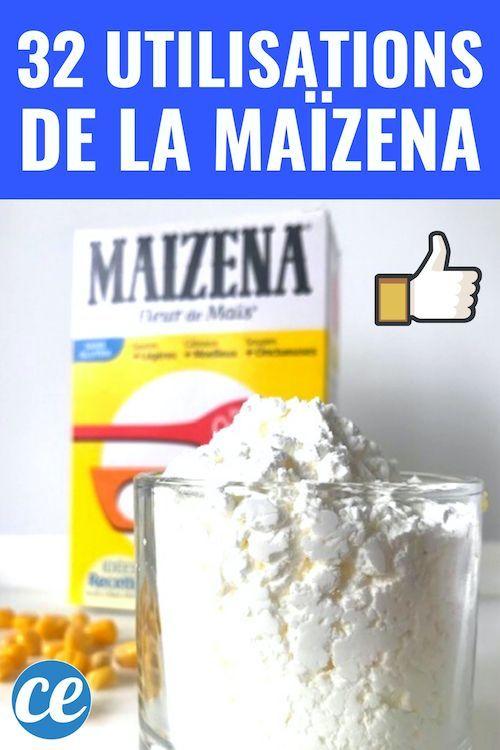 32 utilisations de fécule de maïs qui vous surprendront! #Go #Uses #!   – My Pins