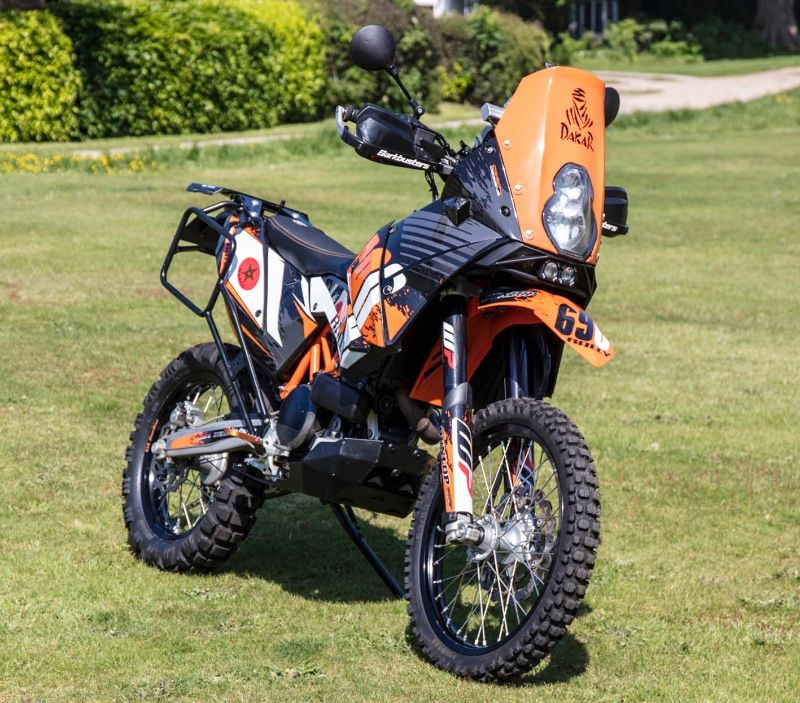 Ktm 690 Rally Bike Back On Sale 5250 Adventure Bike Rider