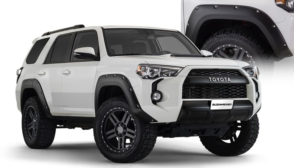 2016 Toyota 4Runner Accessories >> Bushwacker 2014 2016 4runner Flares Expedition Portal Toyota