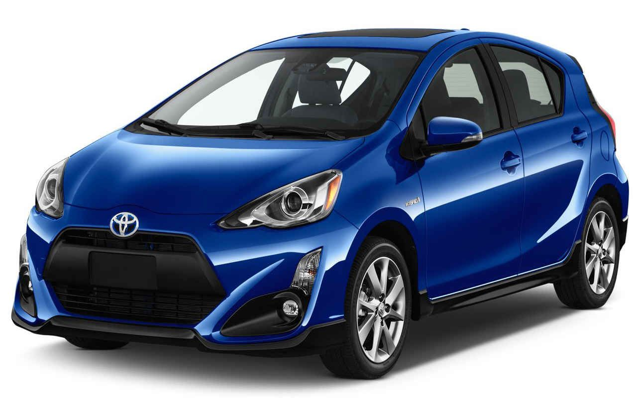 The new 2017 toyota prius c is the smallest of the brand s eight hybrid models now comes standard with the toyota safety sense c tss c driver assist tec