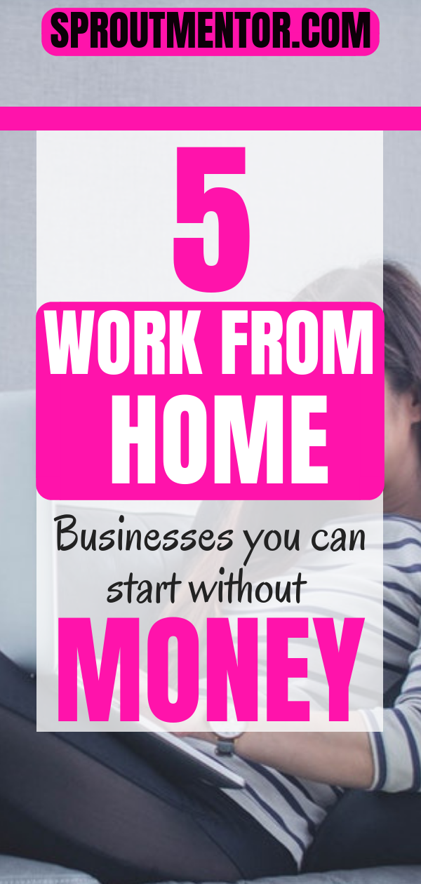 The 5 Best Home Based Business Opportunities With No Startup