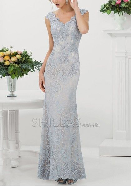Attractive Ladies Lace Evening Dresses Prom Dresses Shilla