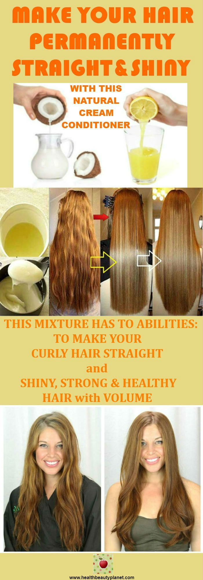 Make Your Hair Permanently Straight Hair Hair Cabelo Looks