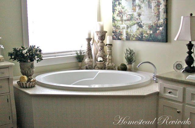 Interesting Garden Tub Decor Ideas 13 Master Bathroom Decor Beautiful Bathroom Decor Bathtub Decor