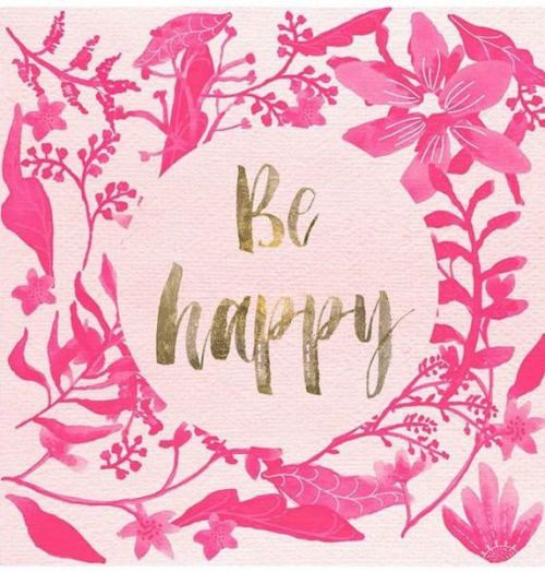 audreylovesparis: Be happy
