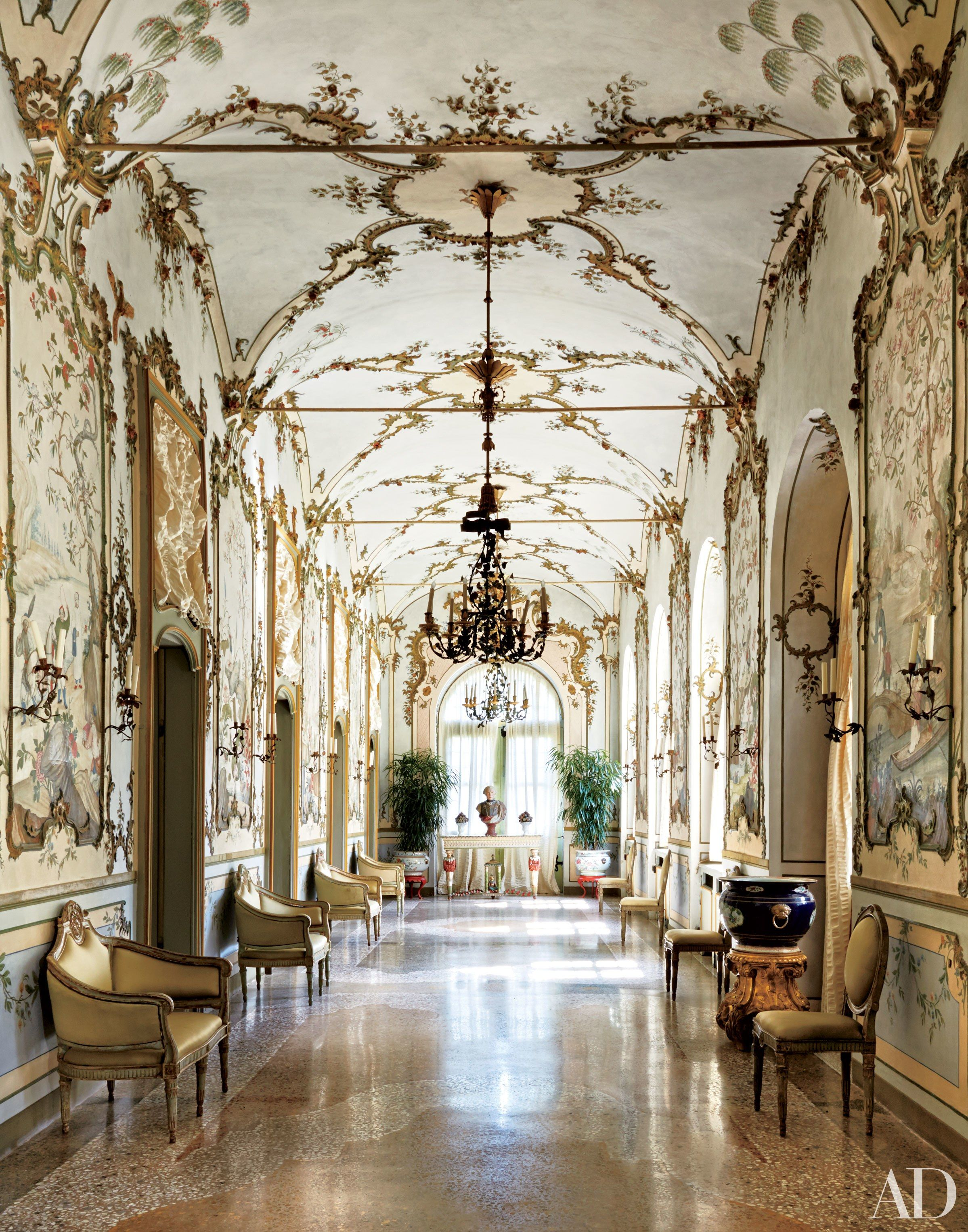 Step Inside These 19 Magnificent Rooms in Italian Homes | Romantic ...