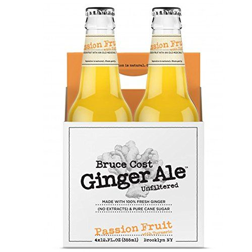 Bruce Cost Fresh Ginger Ale Passion Fruit  Case of 12 -- Find out more about the great product at the image link.
