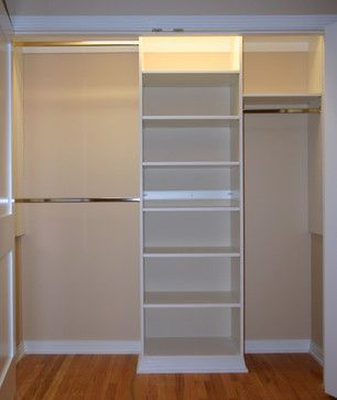 Basic Reach In Closet Modern Organizers Chicago Experts