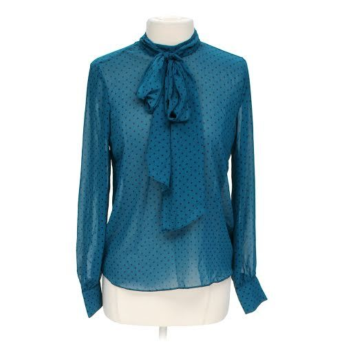 Polka Dot Sheer Blouse