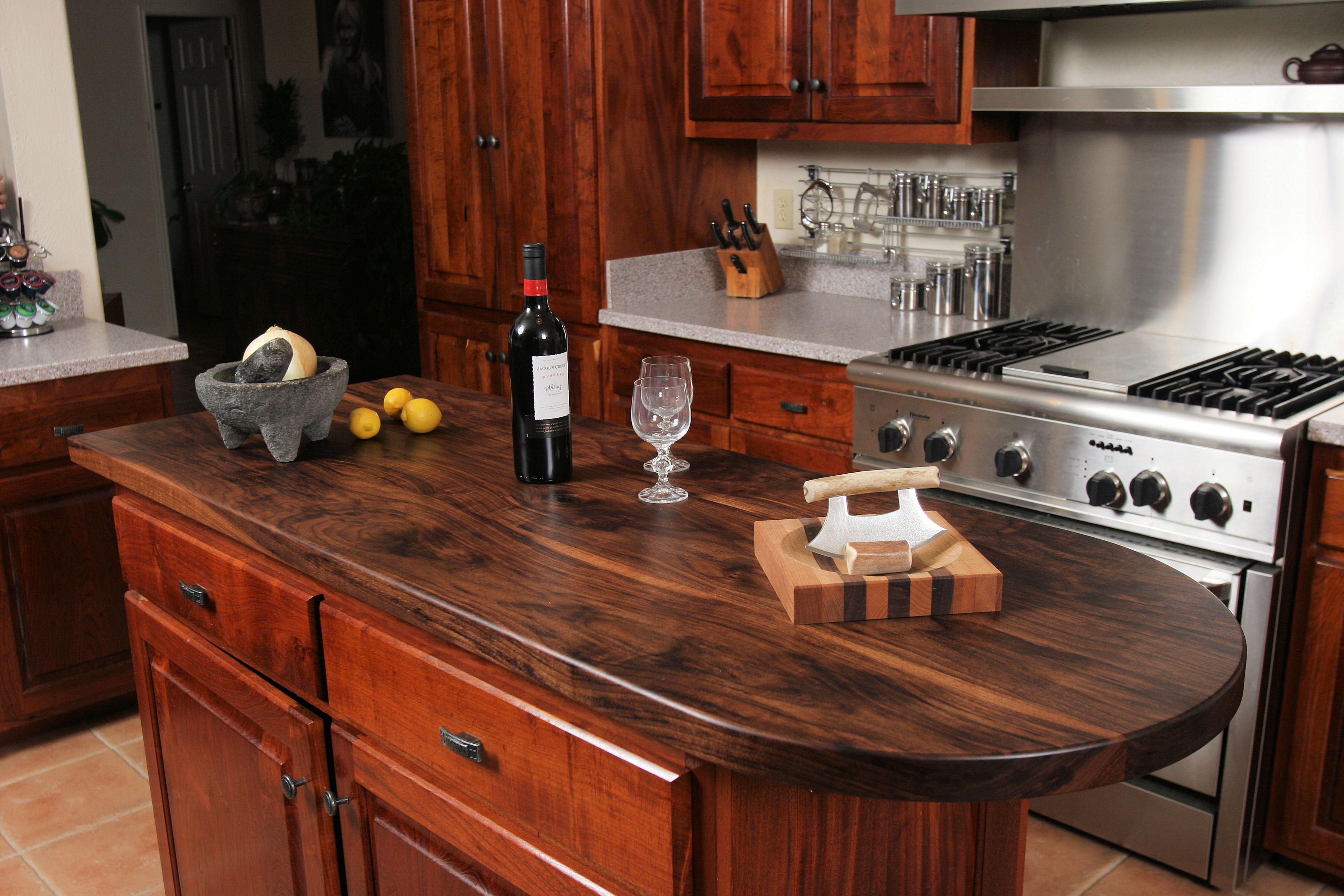 Photo Gallery Of Walnut Wood Countertops, Butcher Block Countertops, Wood  Bar Tops, Wood Table Tops, And Custom Wood Tables Are All Made By DeVos  Custom ...