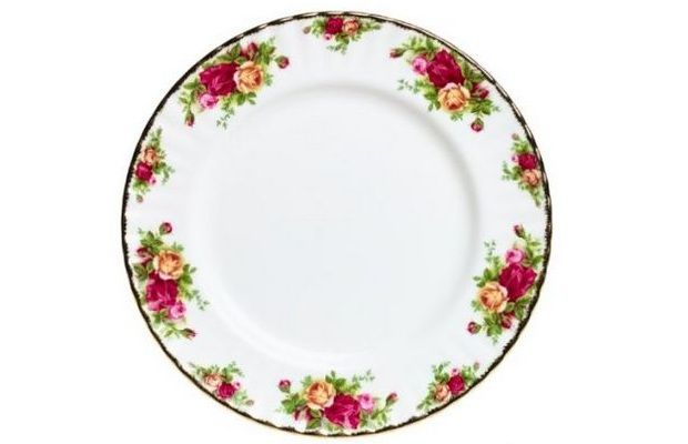 Royal Albert Old Country Roses Dinner Plate / Project Fellowship  sc 1 st  Pinterest : romantic dinner plates - Pezcame.Com