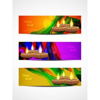 Free vector illustration of abstract lines around diwali diya on free vector illustration of abstract lines around diwali diya on orange purple m4hsunfo