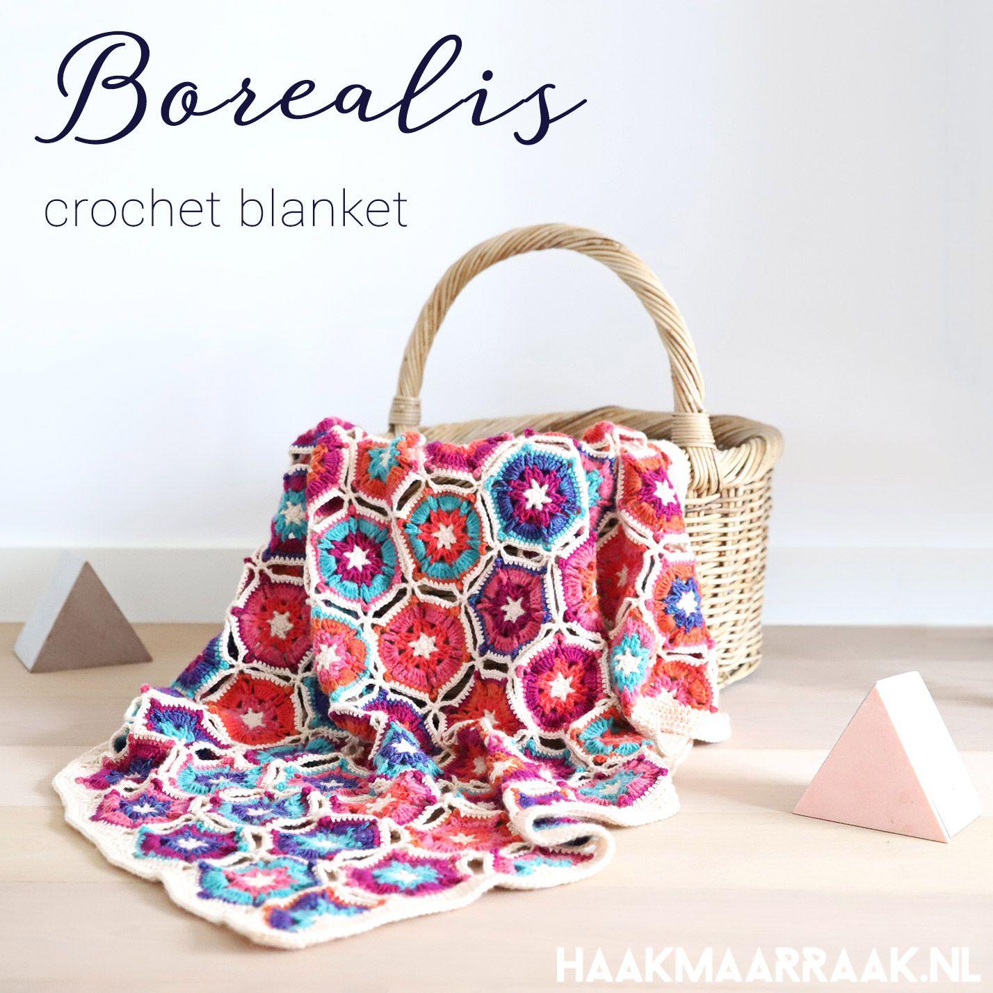Free crochet pattern: Borealis blanket | Tejido