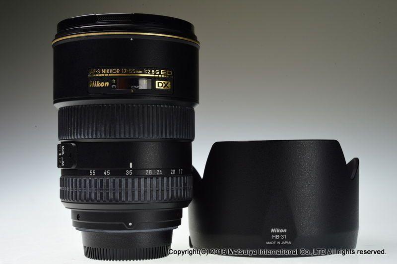 Nikon Af S Dx Nikkor Ed 17 55mm F 2 8g Swm If Excellent Nikon Lens Online