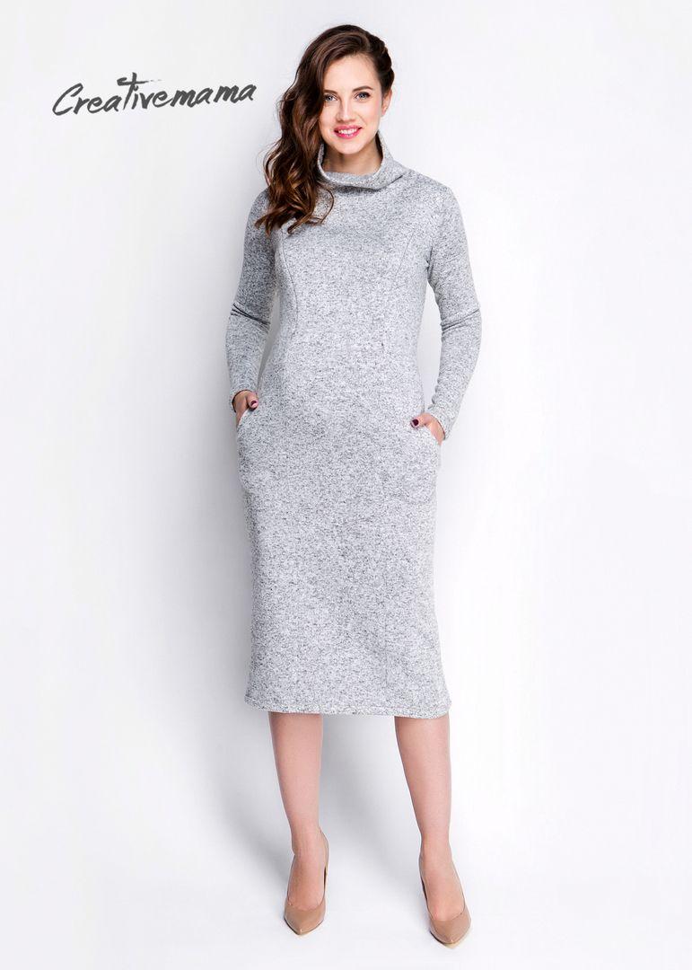 baae3c6fe44a666 платье теплое Cashemir Для Беременных и кормящих мам, можно носить после  беременности и грудного