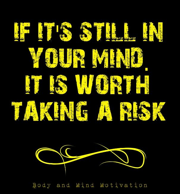 how to take a risk in life