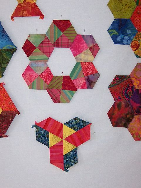 experiments in hexagons (by wowcarn)
