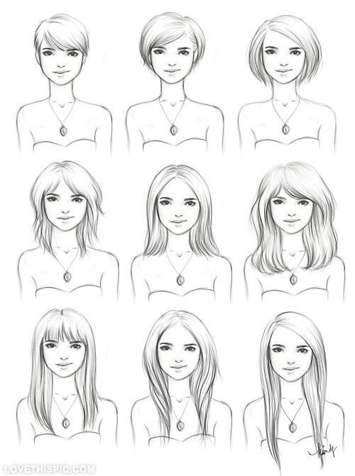 hair drawings pictures  photos  and images for facebook