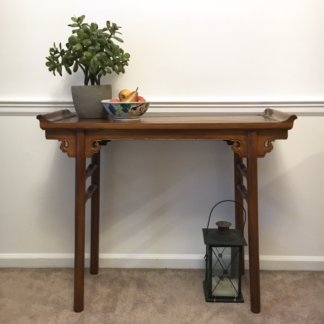 Vintage Asian Console Table Console Table Table Vintage Furniture