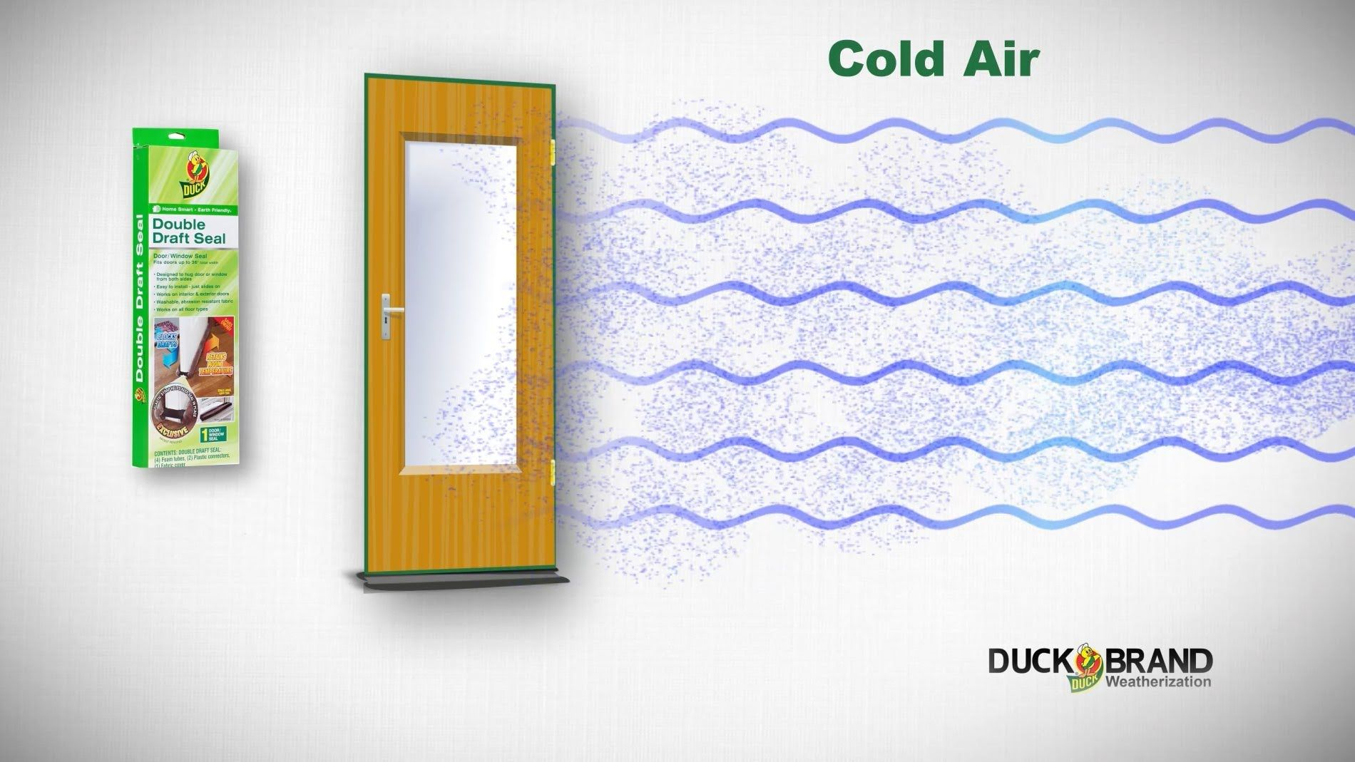 How To Install A Duck Brand Double Draft Seal Https Www Youtube Com Watch V Wsj 03eamio Utm Campaign Weatherization General U Winter House Installation Seal