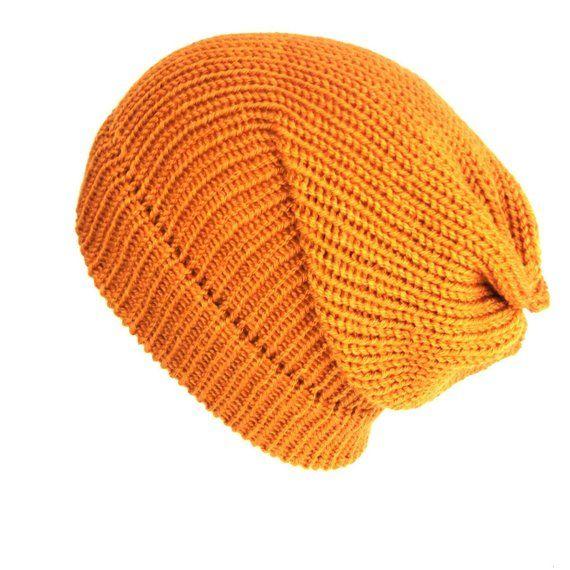 Mustard yellow slouchy beanie womens hats knit beanie wool beanie hats women  hipster chemo hat best friend gift mens hat knit hats 84f7a5eddcf