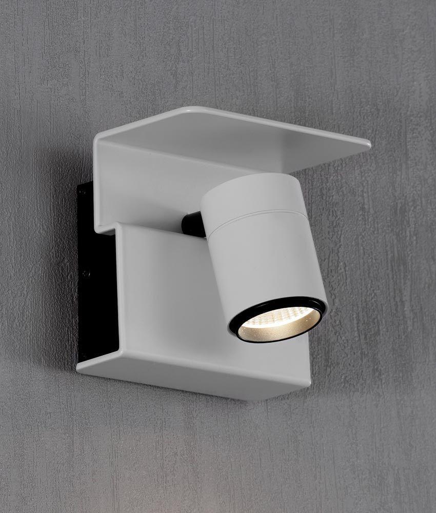 Aplique O Foco Luz Calida Color Blanco Boracay Led Foco Luz Lampara Foco Apliques De Pared
