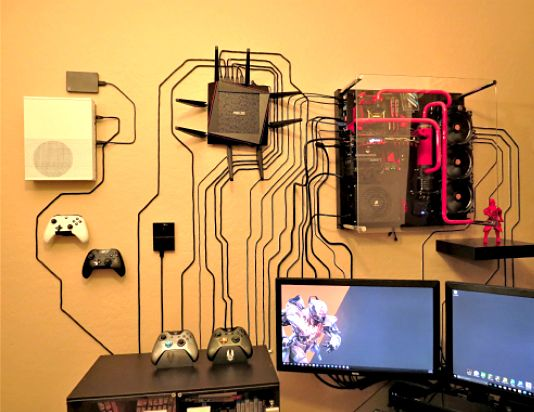 Wall Mounting Life Game Room Design Man Cave Home Bar Video Game Rooms
