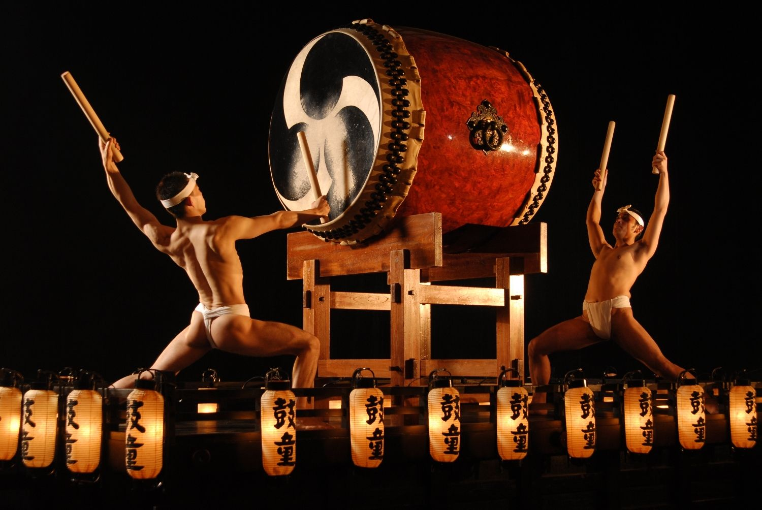 Japanese drummers.  These drummers are awesome!