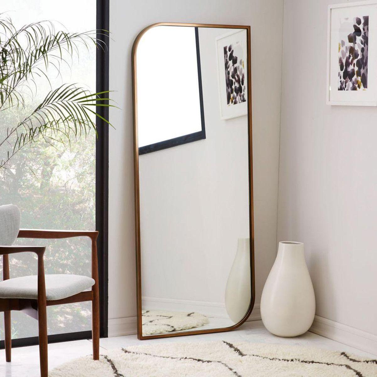 mirror floor mirrors project frame diy