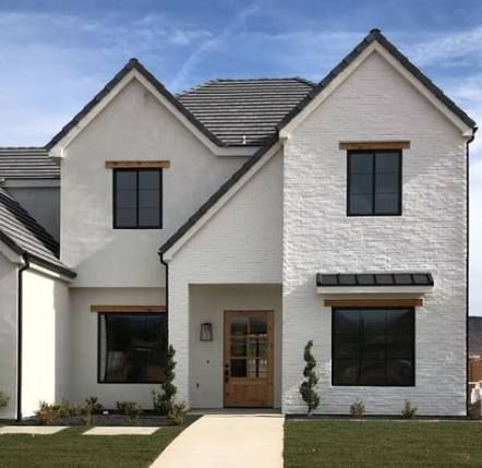 54 Ideas Exterior Remodel Stucco Painted Bricks For 2019 Home