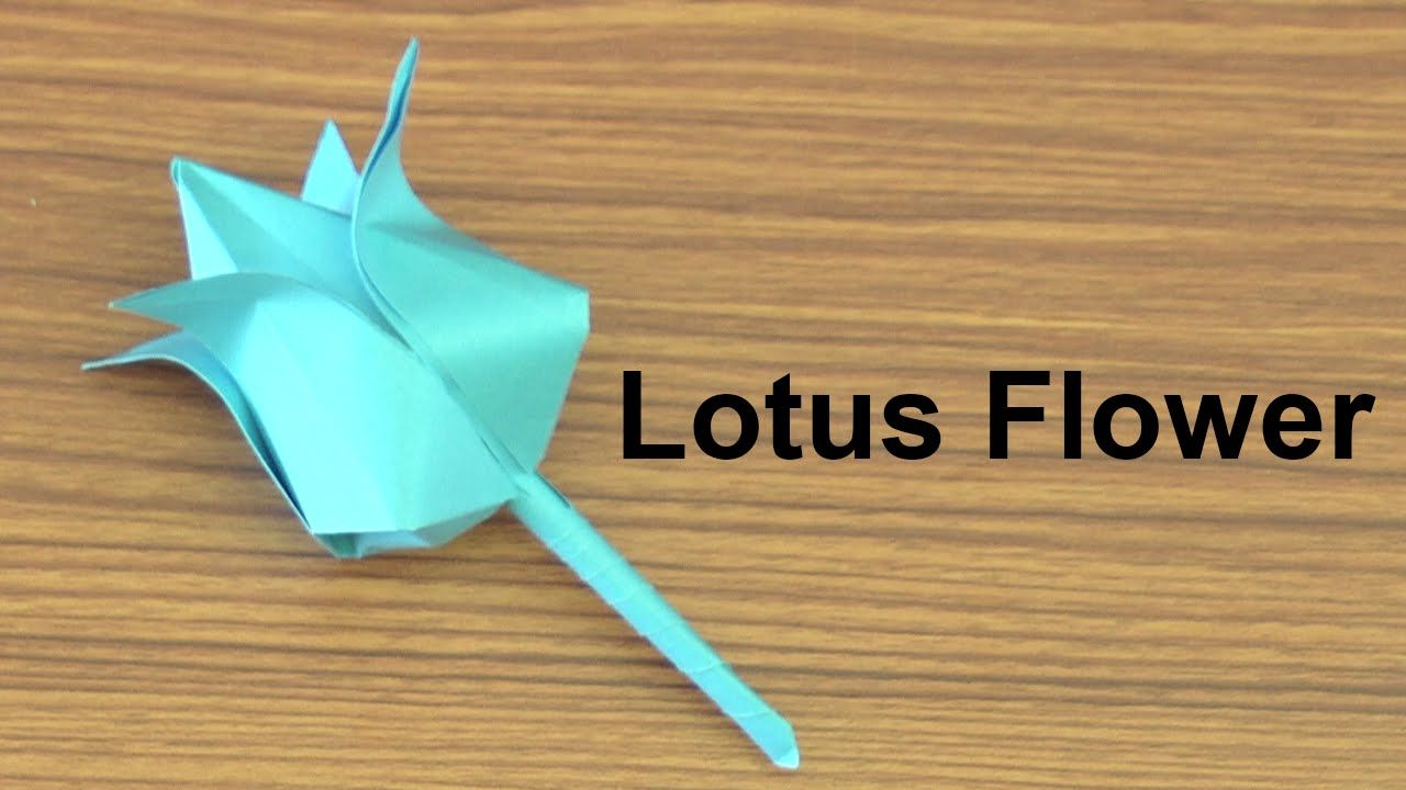 Origami how to make paper flowers origami lotus flower diy origami how to make paper flowers origami lotus flower mightylinksfo