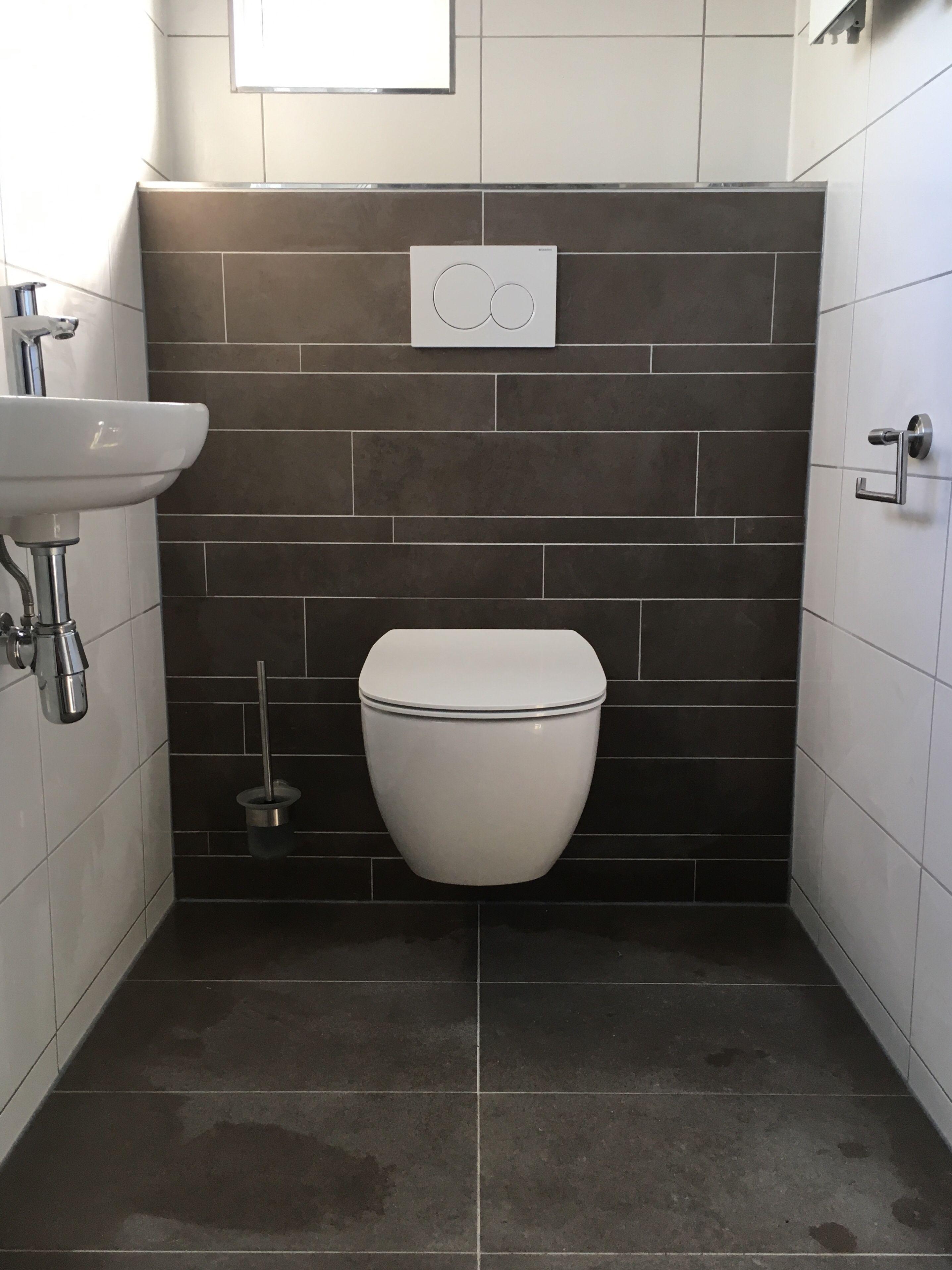 Verwonderend Renovatie van toilet, strokentegels, wandcloset en wasmachinekast OH-87