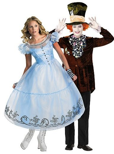 The best and worst costumes for couples Mad hatter costumes - halloween couples costumes ideas