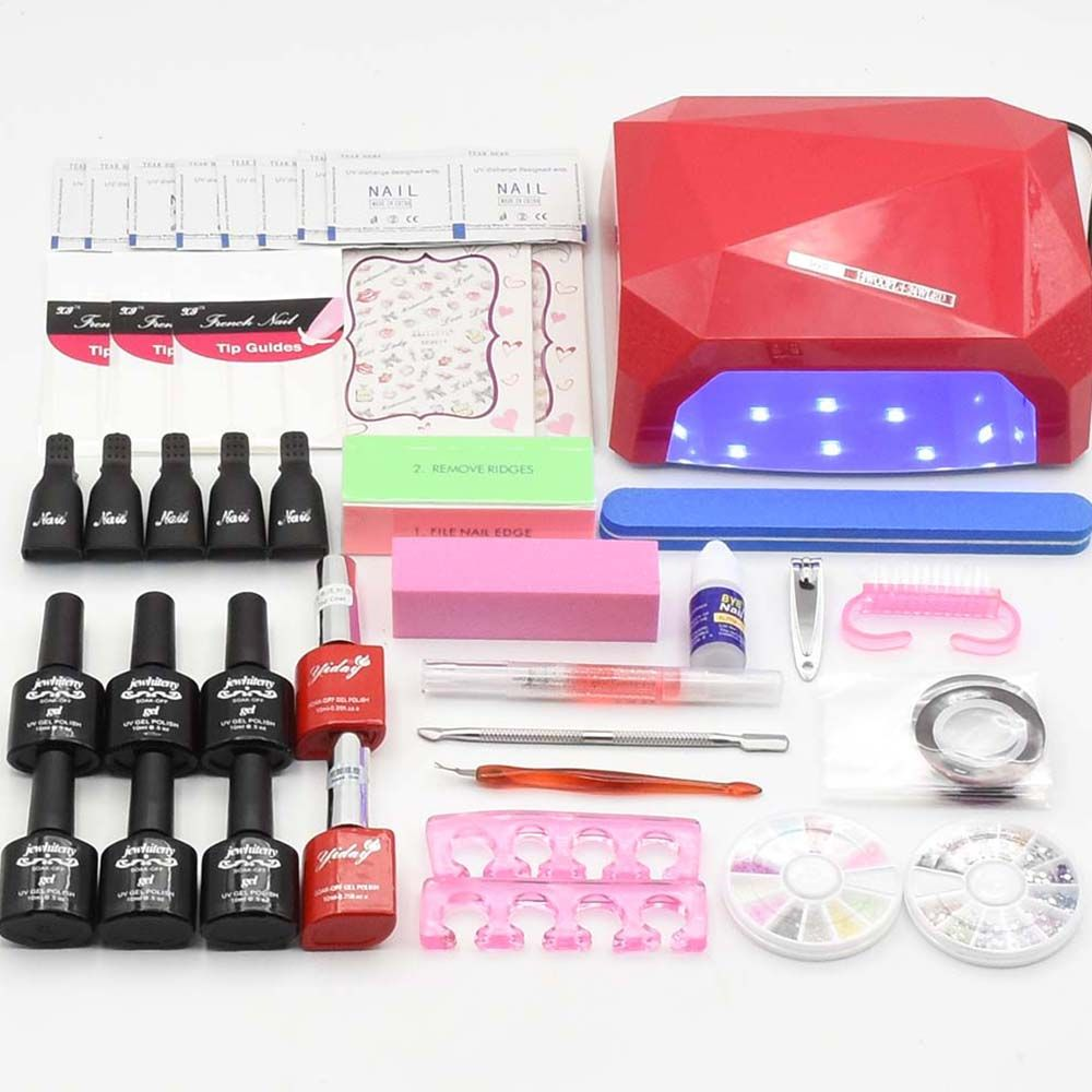 best price nail art manicure set 10ml 120 colors gel varnishes nail ...