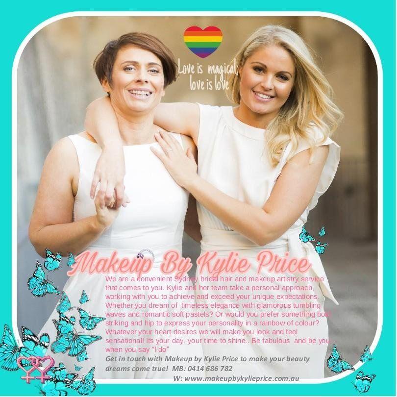hair makeupartist weddings Weddings lesbianwedding
