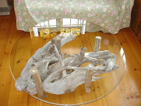 coffee table - Table Basse Bois Flotte