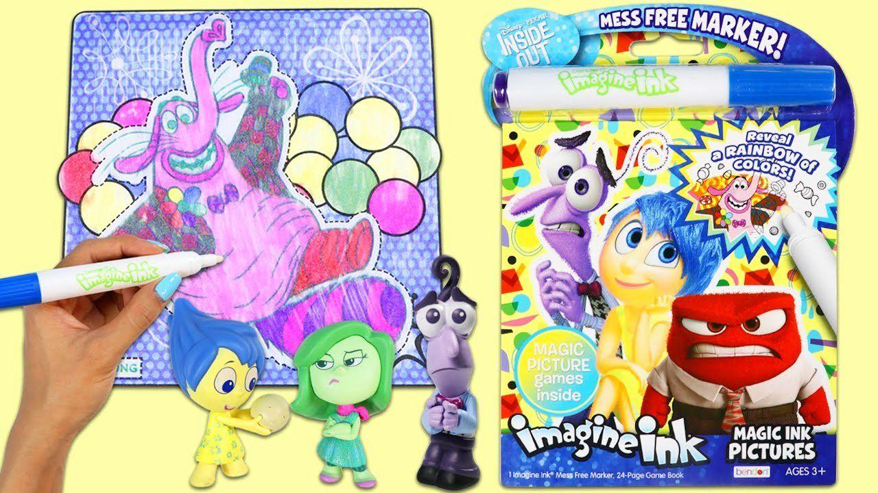 Magic Marker Coloring Book Fresh Imagine Ink Inside Out Magic Marker Coloring And Activity Book In 2020 Toddler Coloring Book Elmo Coloring Pages Kids Coloring Books