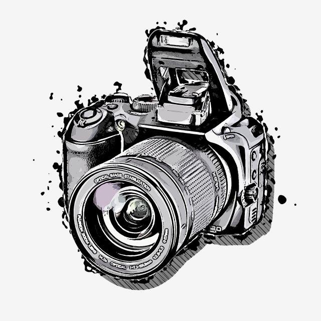 Camara Camara Digital Tecnologia Electronica Gratis Png Y Psd Camara De Fotos Dibujo Dibujo De Camara Camaras Digitales