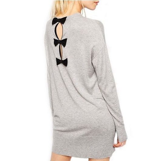 pull long gris