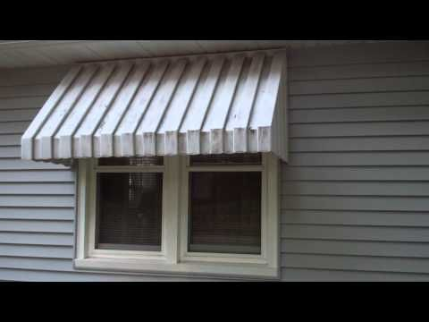 Vintage Window Metal Awnings Jean And Dick S Window Awning